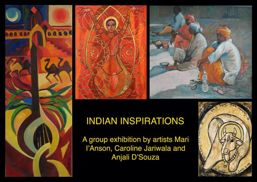 Bhavan centre Exhibition Poster